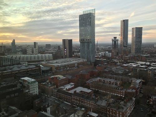 Free stock photo of manchester, skyline