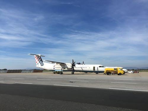 克羅地亞航空公司, 飛機, 飛機場 的 免費圖庫相片