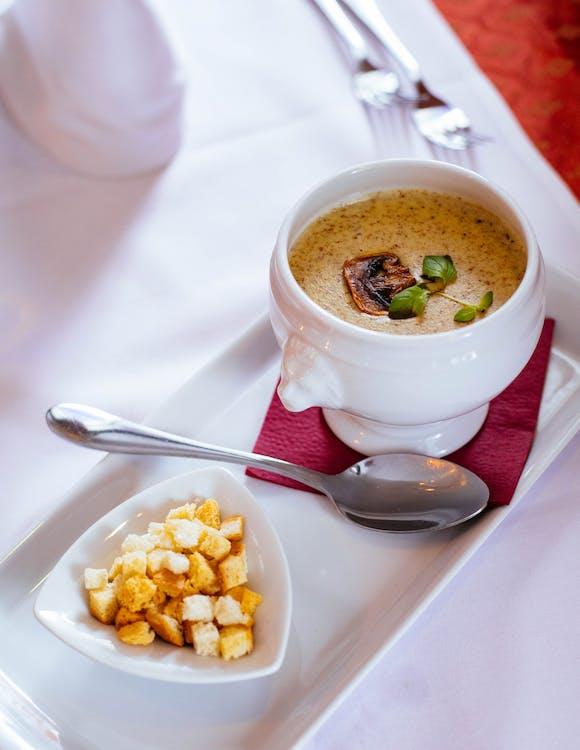 맛있는, 보울, 수프