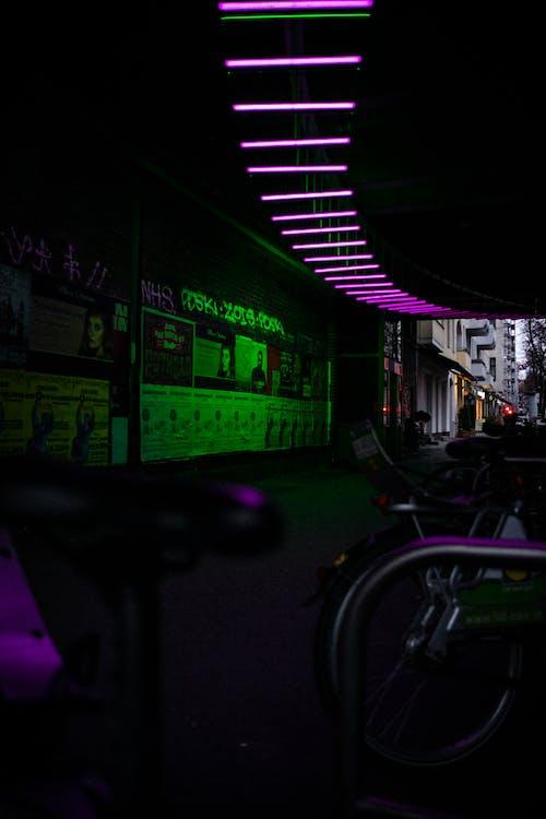 Gratis lagerfoto af lys, neon, neonlys, pletter
