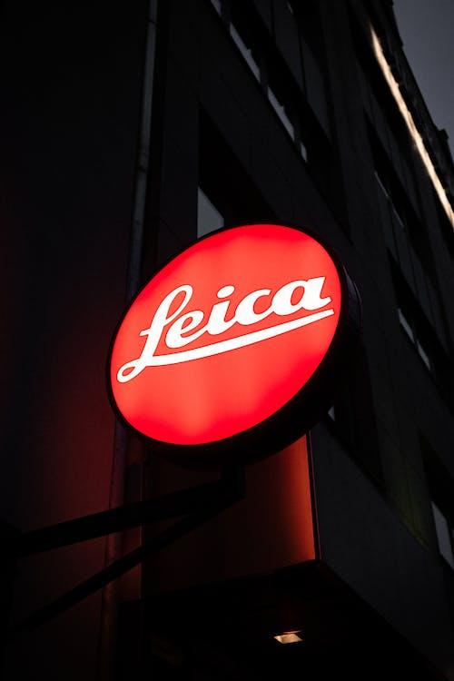 Δωρεάν στοκ φωτογραφιών με leica, πινακίδα, σήμανση, φωτεινός
