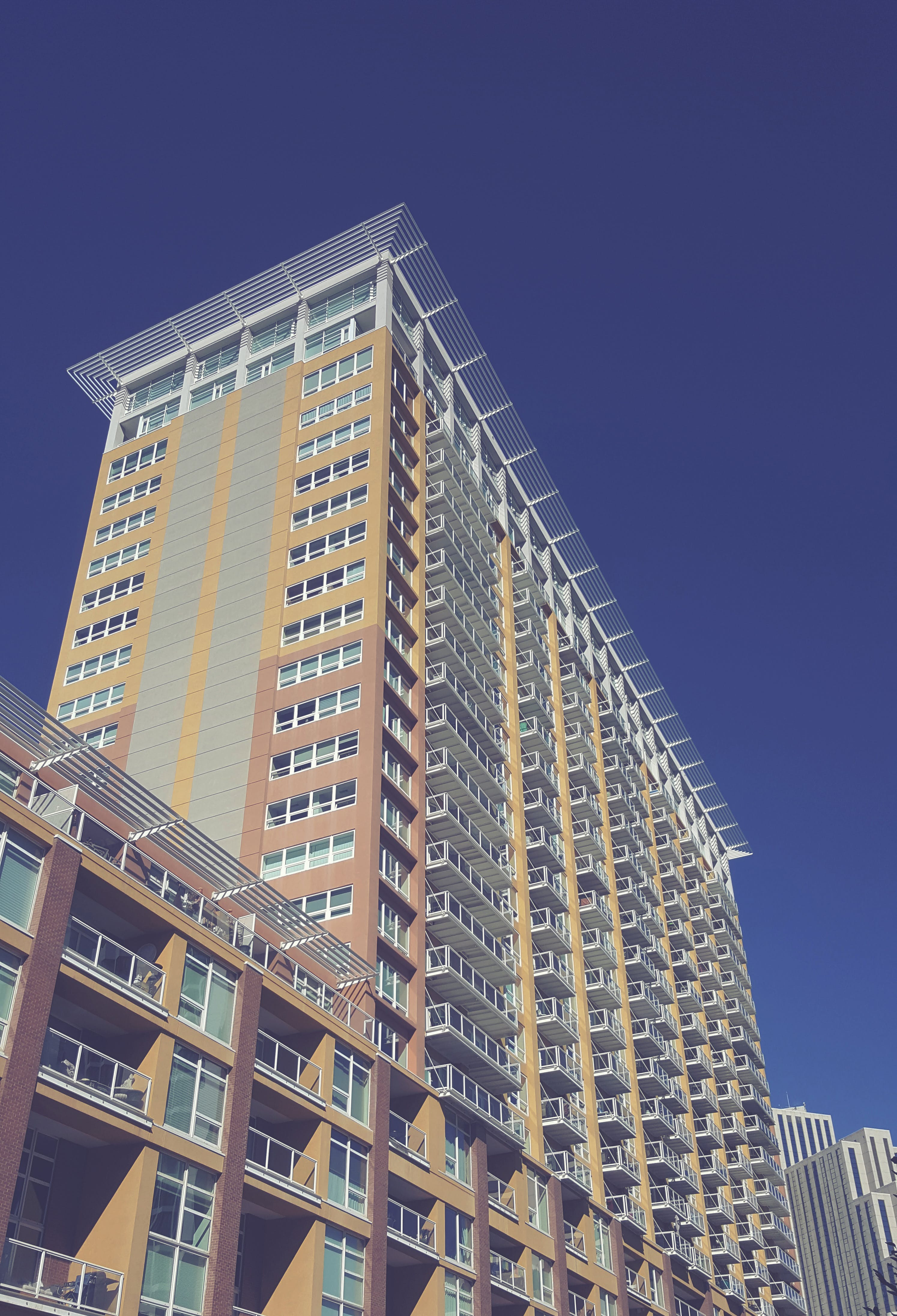 Free stock photo of apartment building, apartments, architectural, architecture