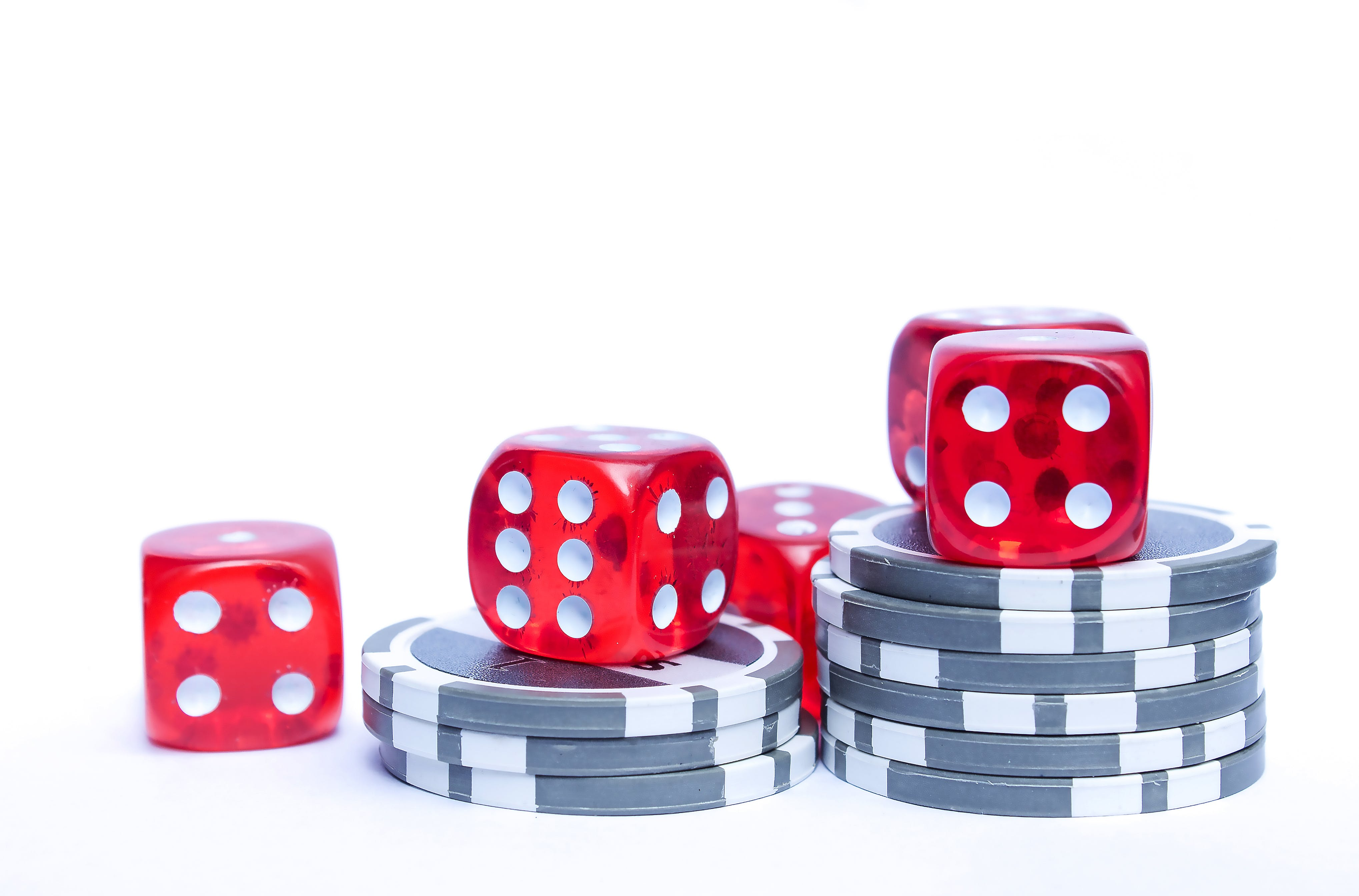 Playing chips and dice