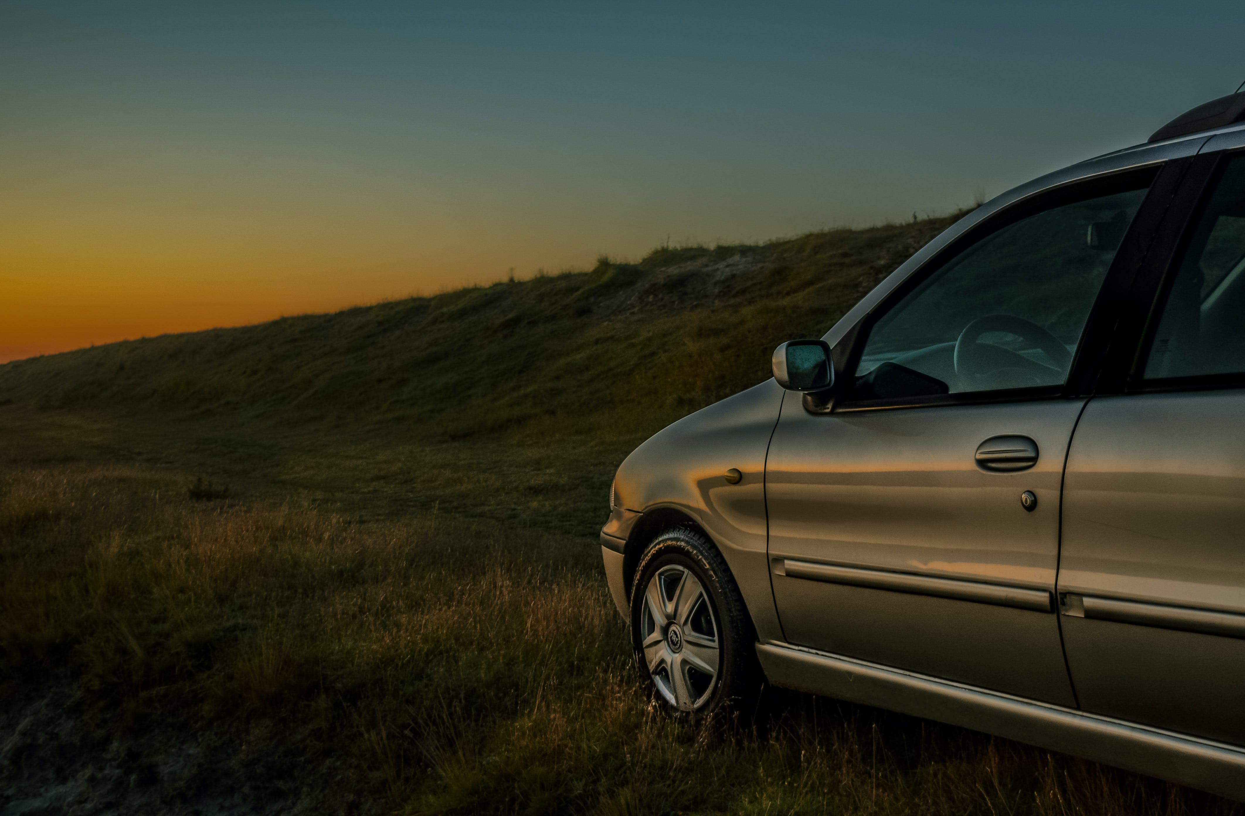 Free stock photo of car, metal, morning, sunrise