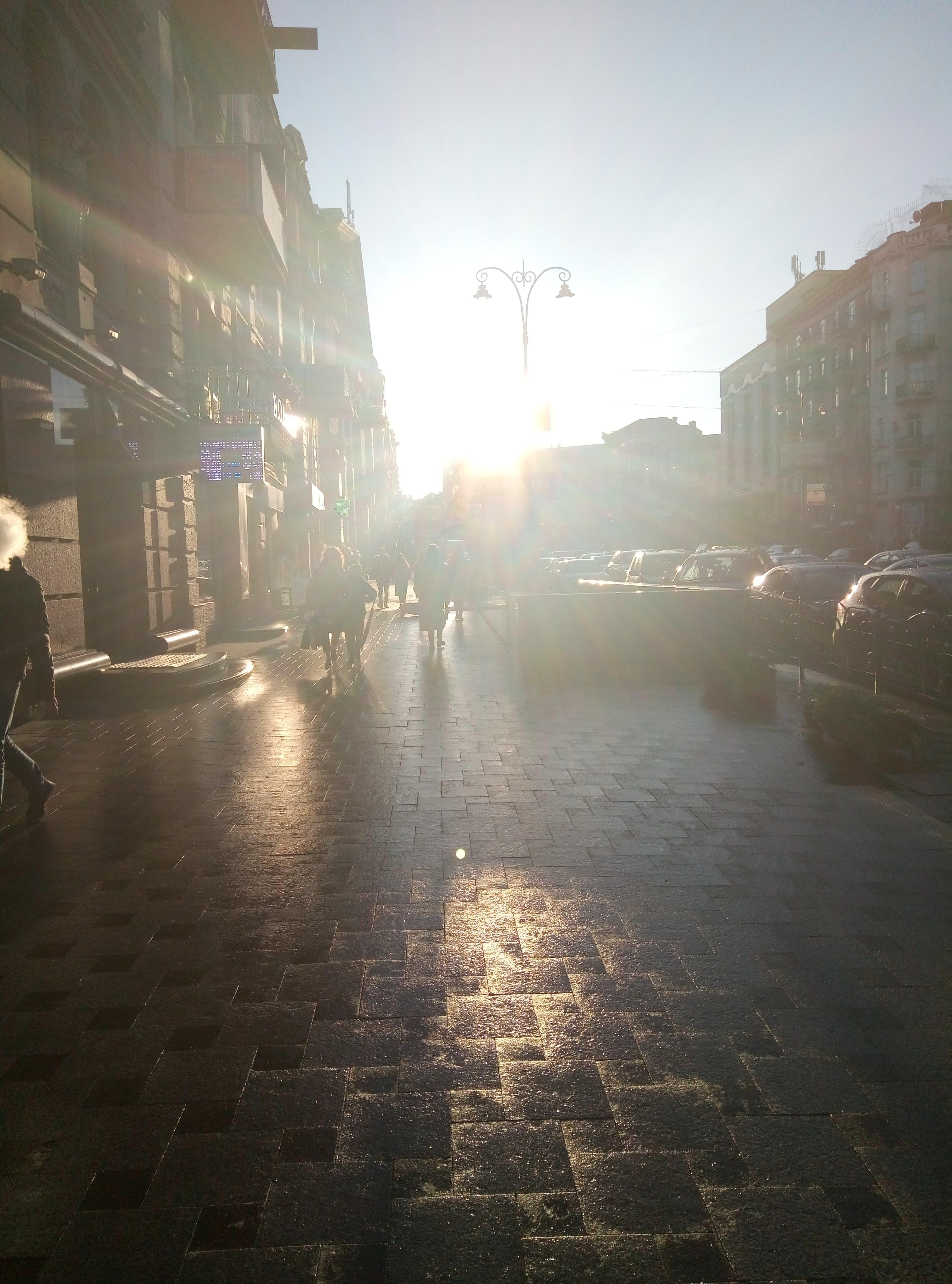 Free stock photo of evening, sun, ukraine