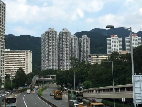 홍콩 부동산의 무료 스톡 사진