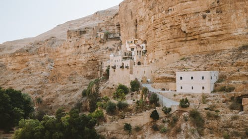中东, 修道院, 教堂, 沙漠 的 免费素材照片