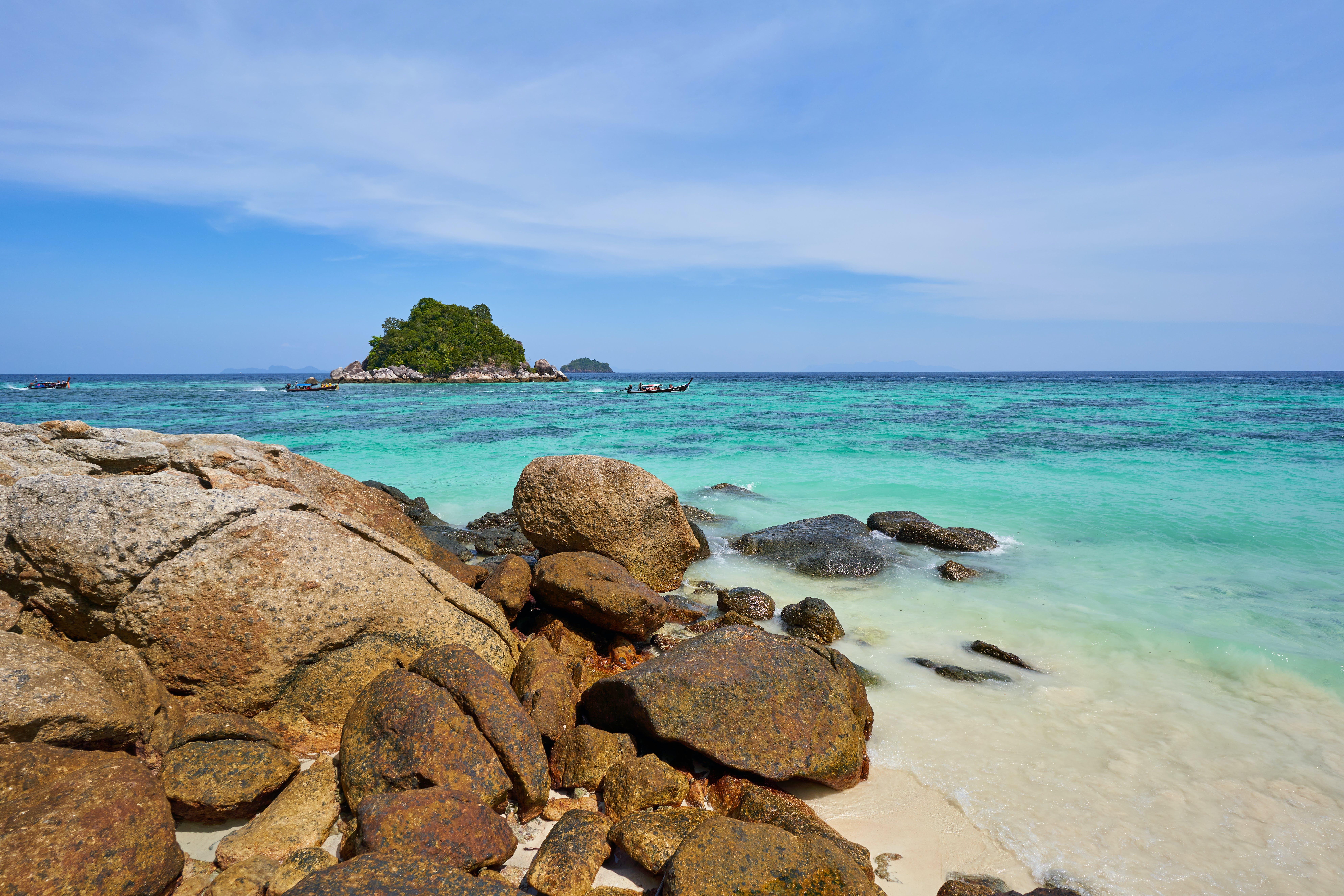 Free stock photo of beach, beautiful, boat, calm