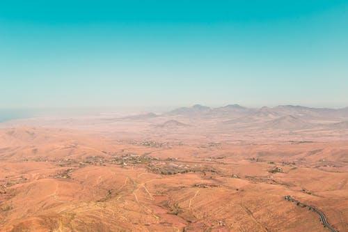 คลังภาพถ่ายฟรี ของ fuerteventura, landscap, ดิน, ทางอากาศ
