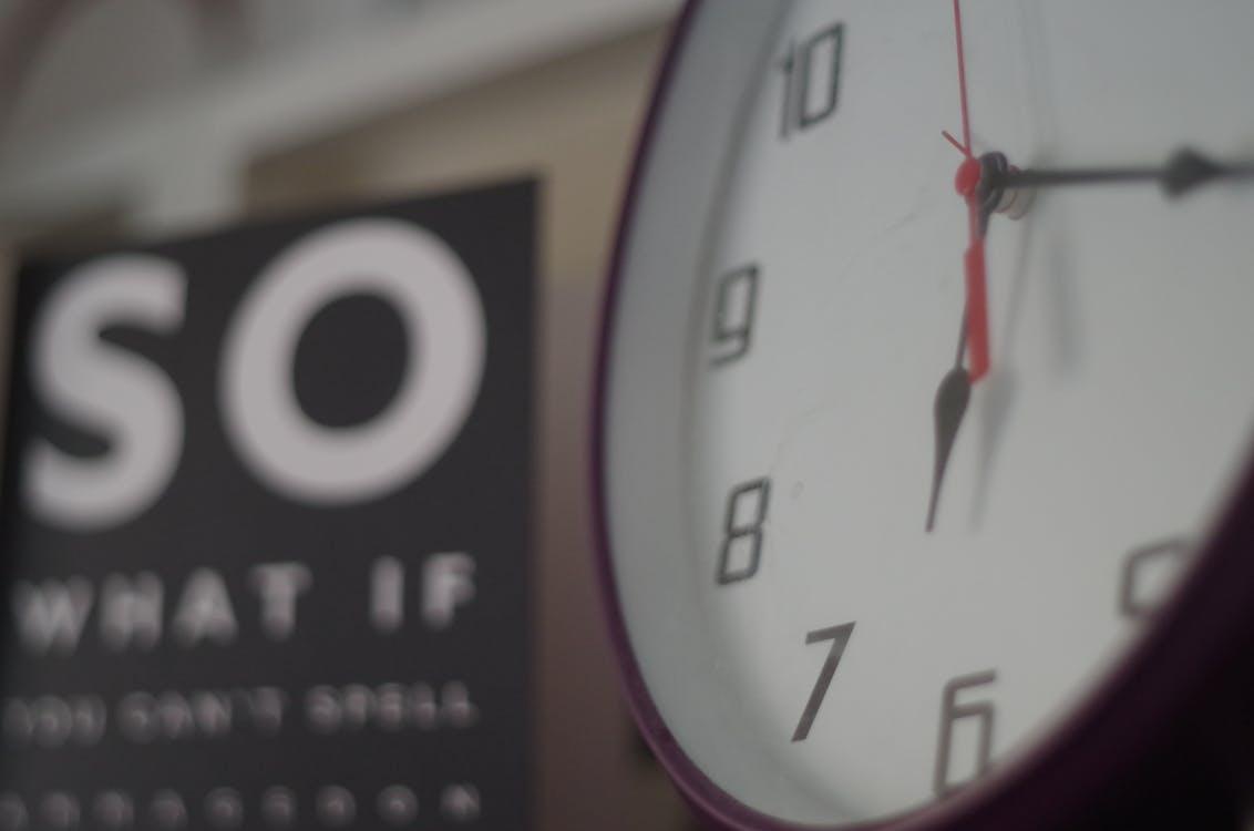 analogowy, czas, godziny
