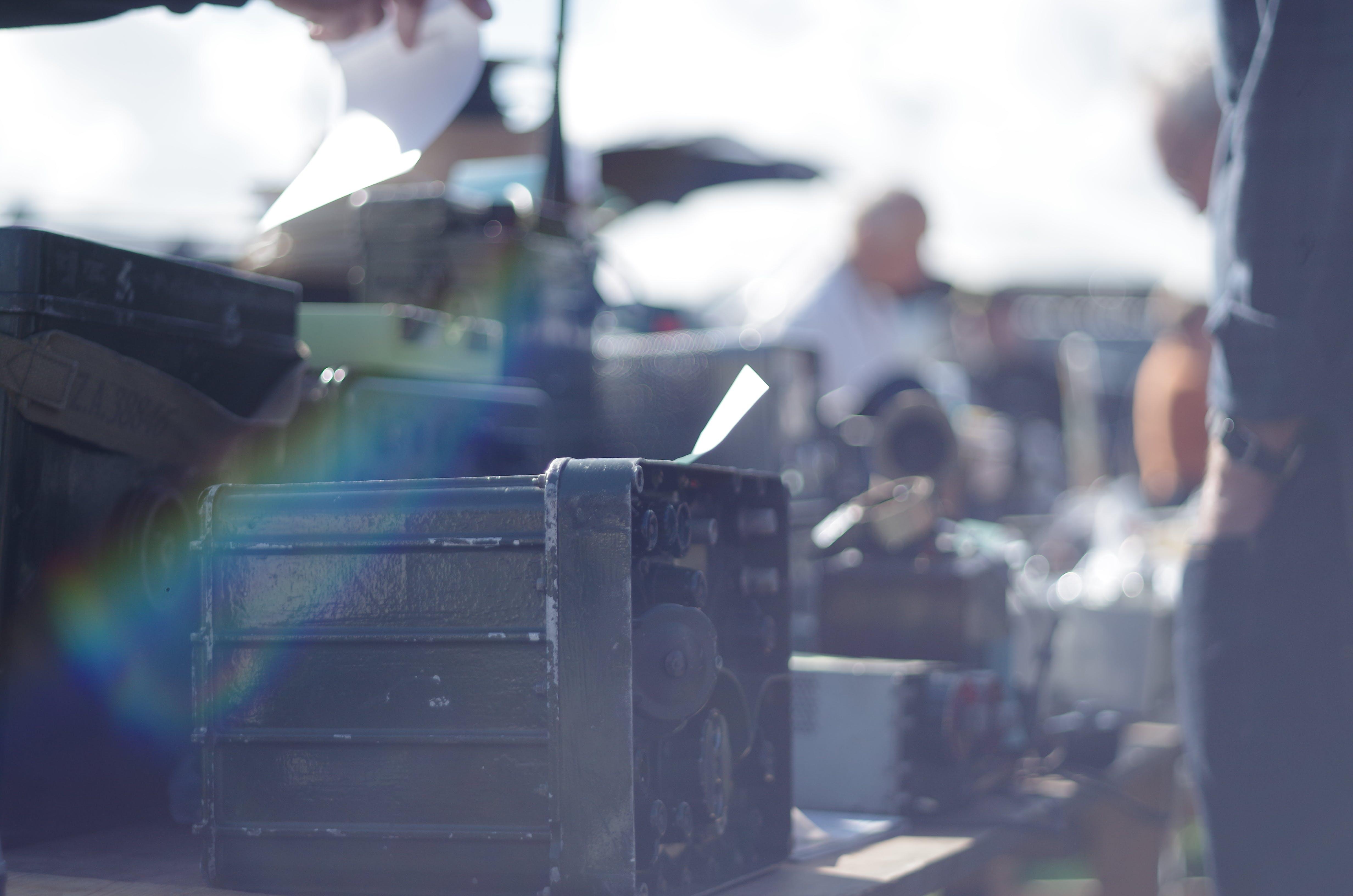 Free stock photo of amateur radio, military, old radios, radio