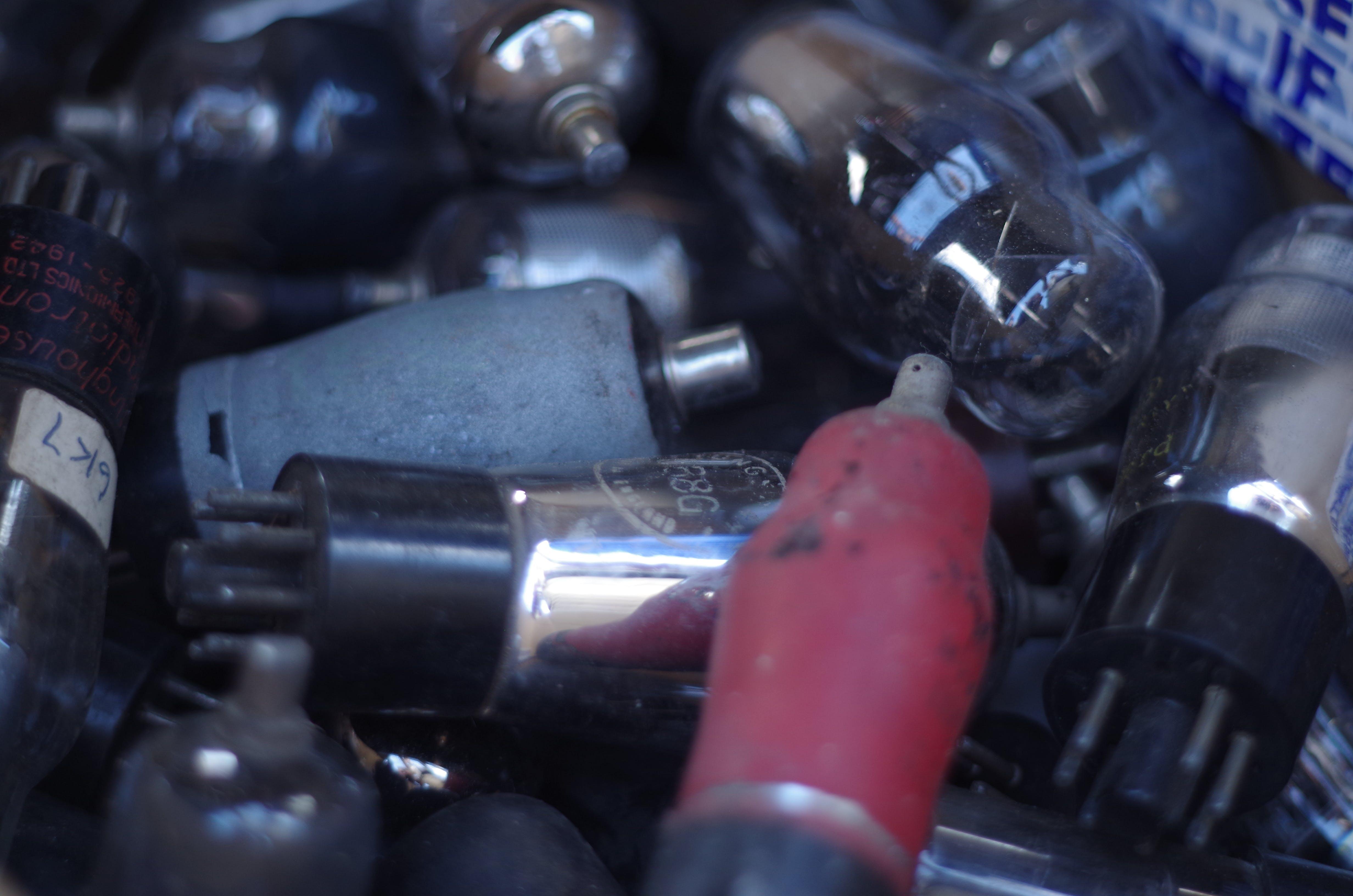 Free stock photo of electronic, technology, tubes, valves