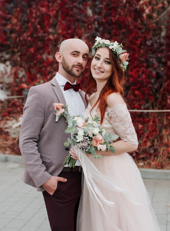 Couple Smiling For A Photo