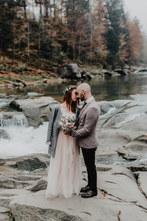 คลังภาพถ่ายฟรี ของ คน, ความรัก, คู่, ชุดแต่งงาน