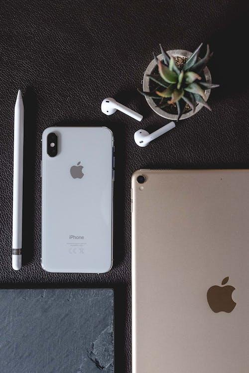 Imagine de stoc gratuită din 2019, airpods, aspect, iPad