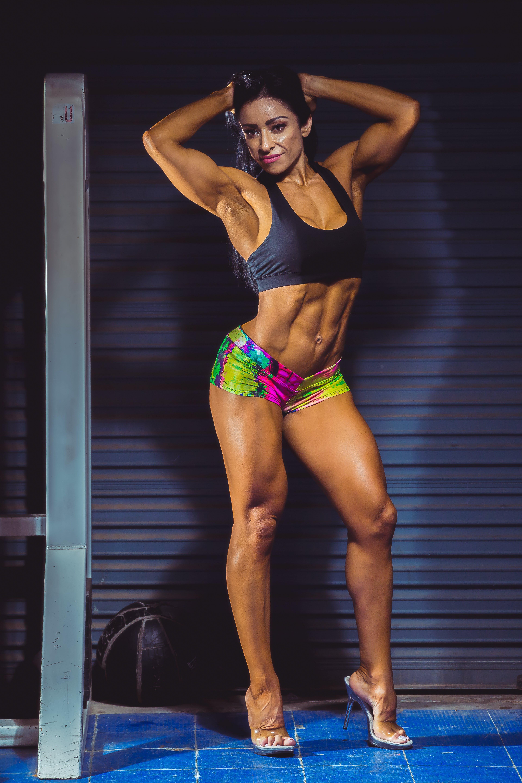 Free stock photo of abdominal exercise, exercise, exercise ball, female fitness