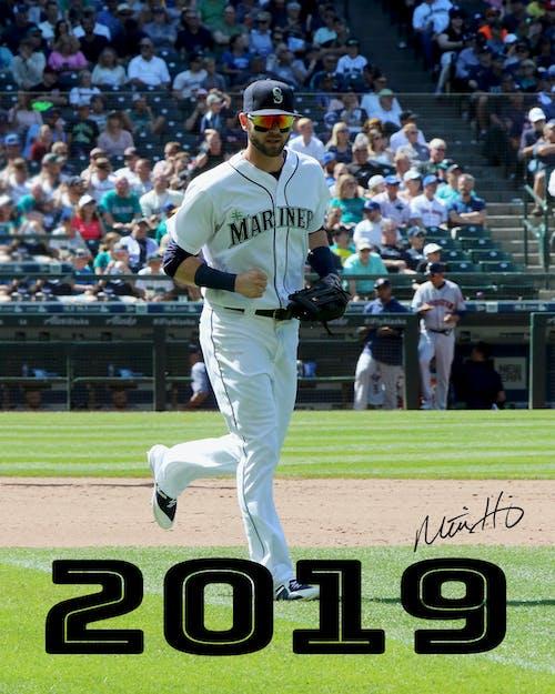 Foto d'estoc gratuïta de beisbol professional, haniger, mariners, mariners de seattle
