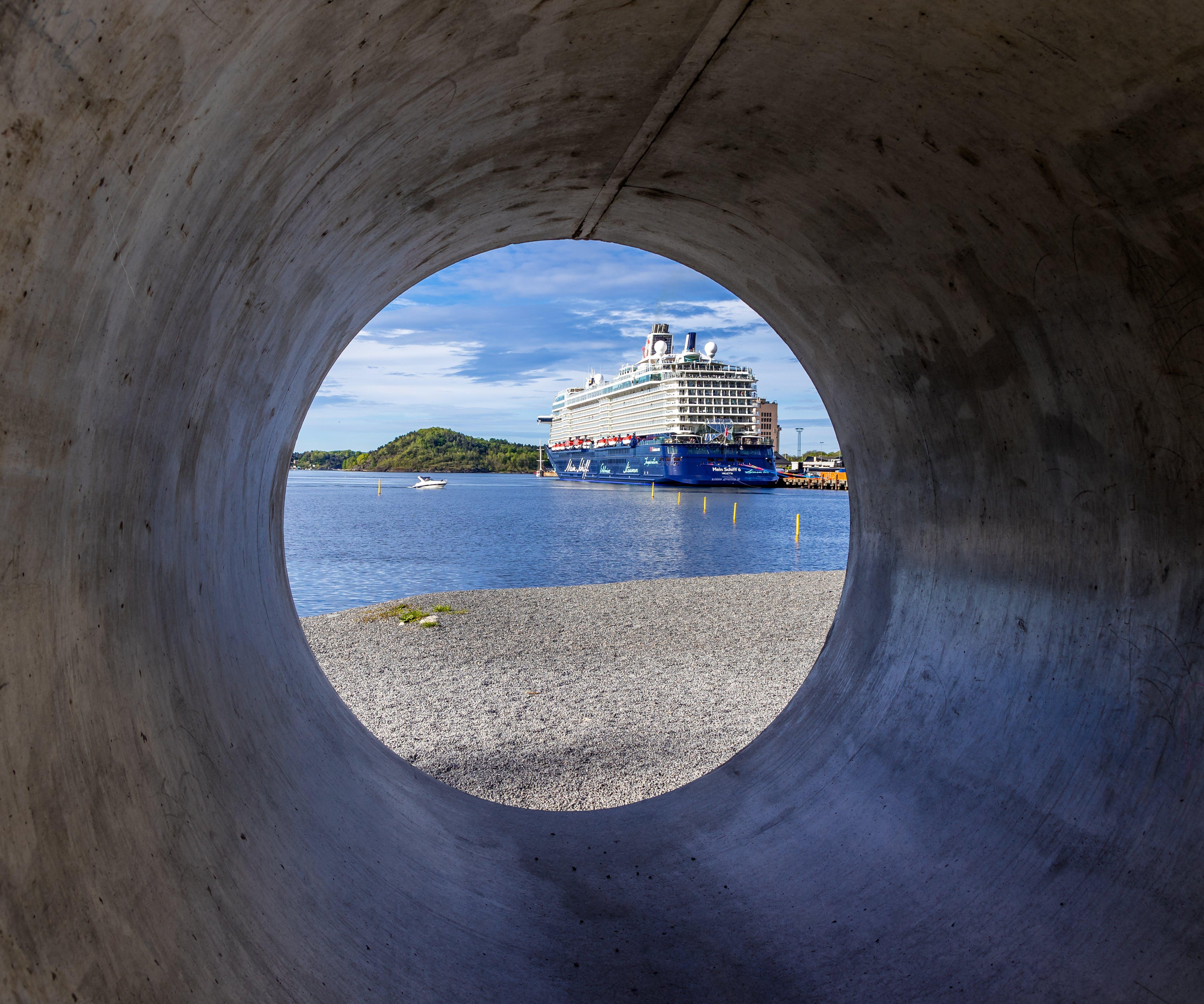 Gratis lagerfoto af båd, færge, hav, Norge