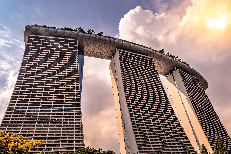 architecture, city, clouds