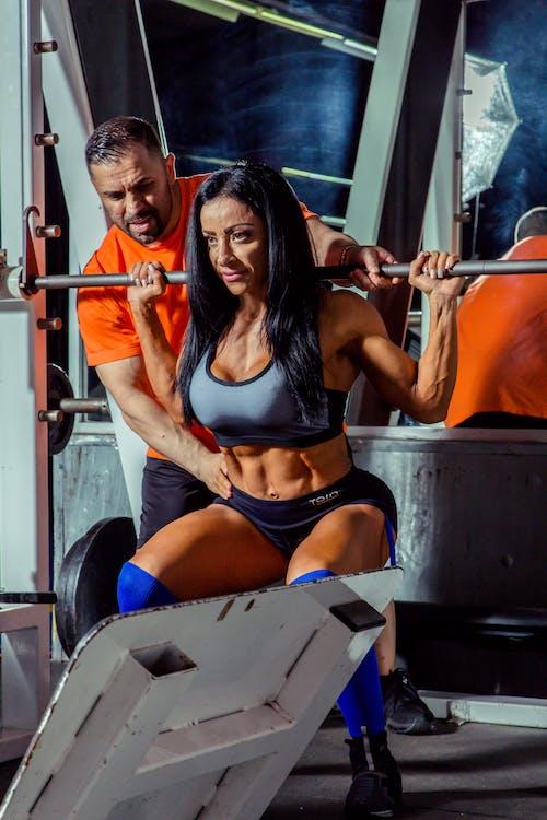 Photos gratuites de bodybuilding, coach, coach personnel