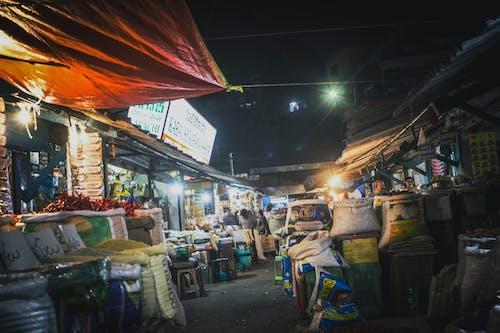 Ilmainen kuvapankkikuva tunnisteilla Intia, intialainen perinne, katu, katumarkkinat
