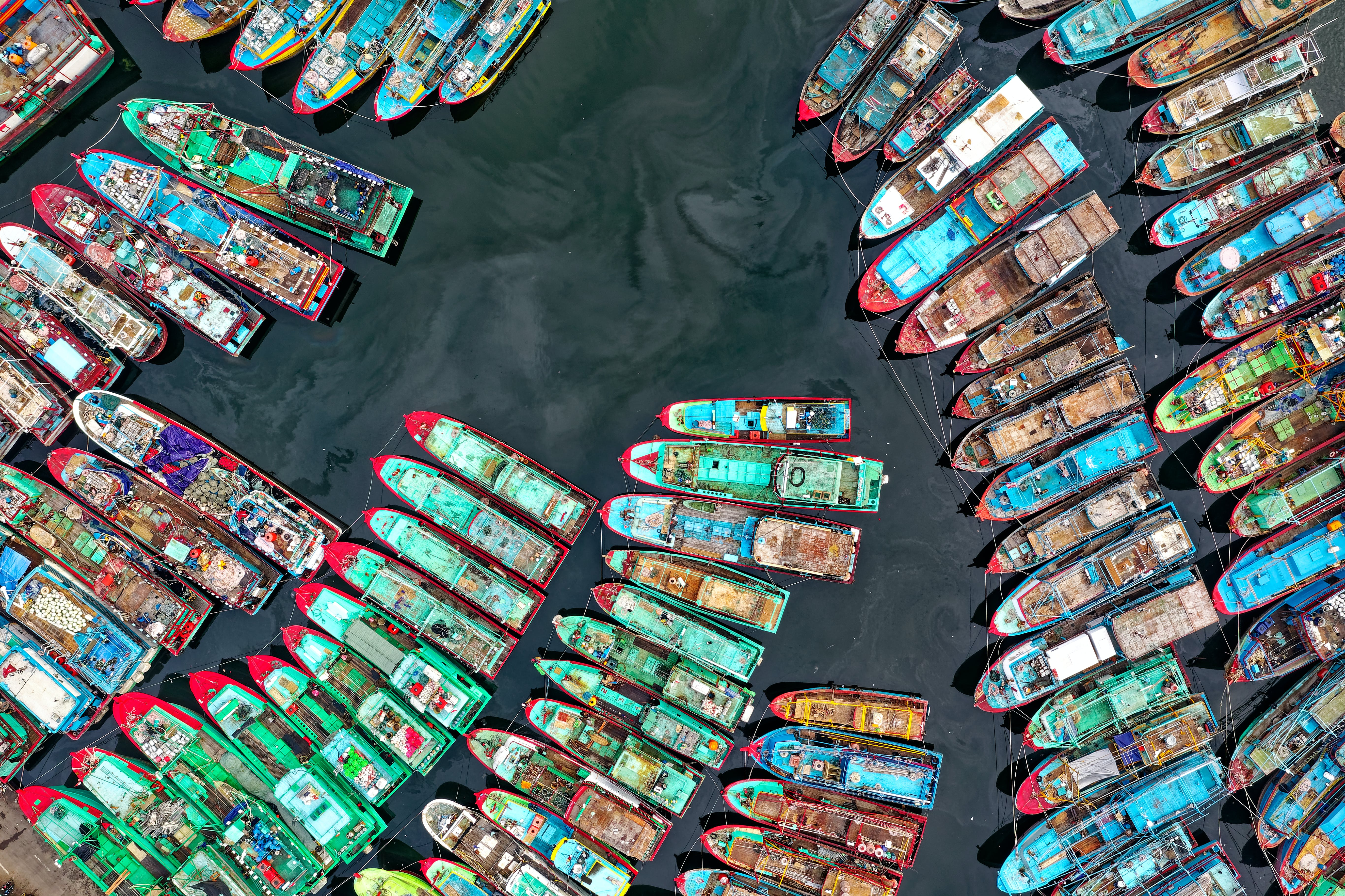Aerial View Photography Of  Boats