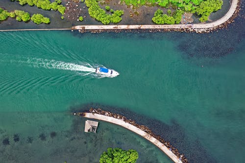 Aerial View Photography Of Boat