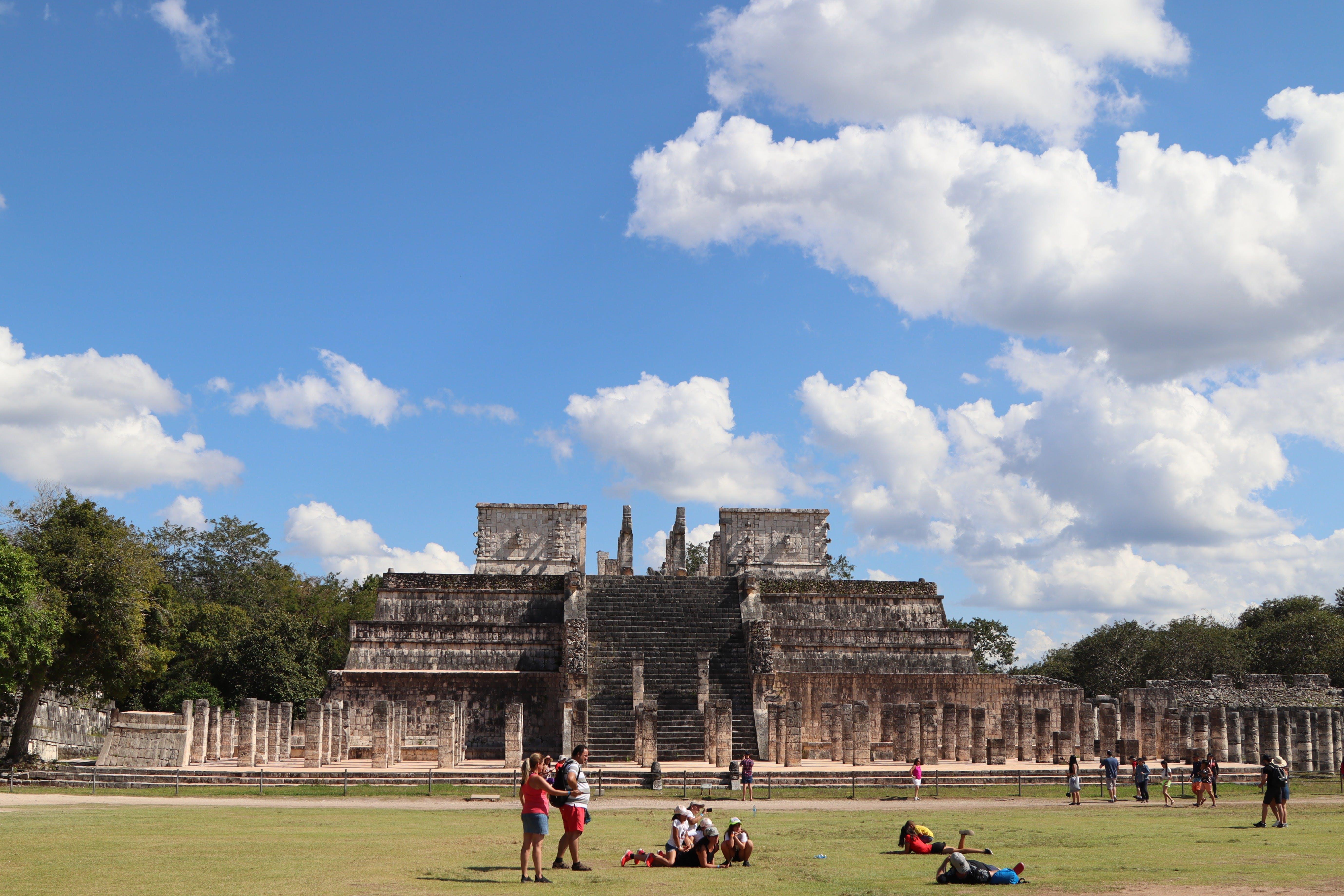 Free stock photo of chichen itza, Maya, Mayan, mexico