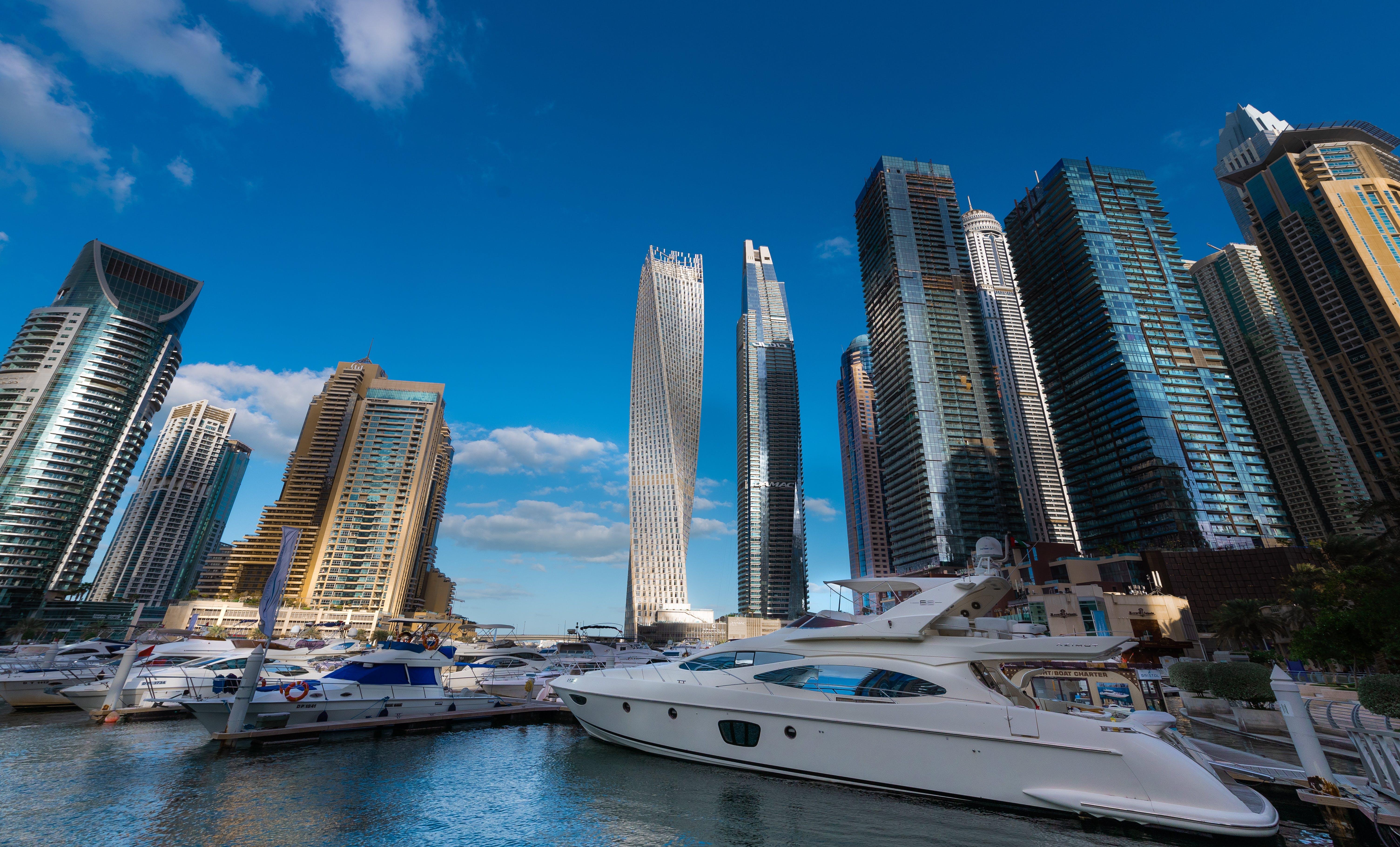 Free stock photo of dubai, Dubai Marina