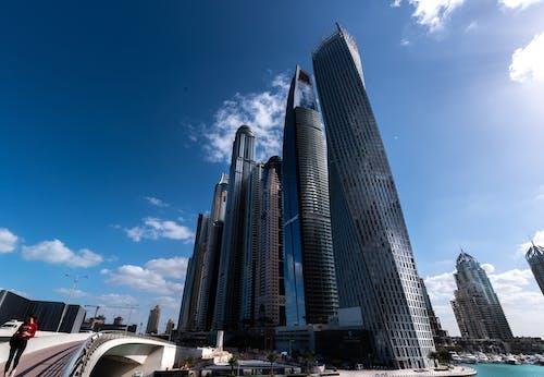 街, 迪拜碼頭 的 免費圖庫相片