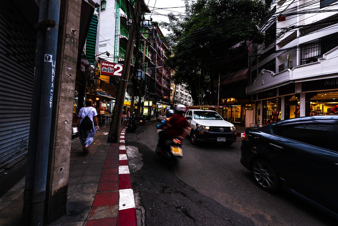 bangkok street, ulica