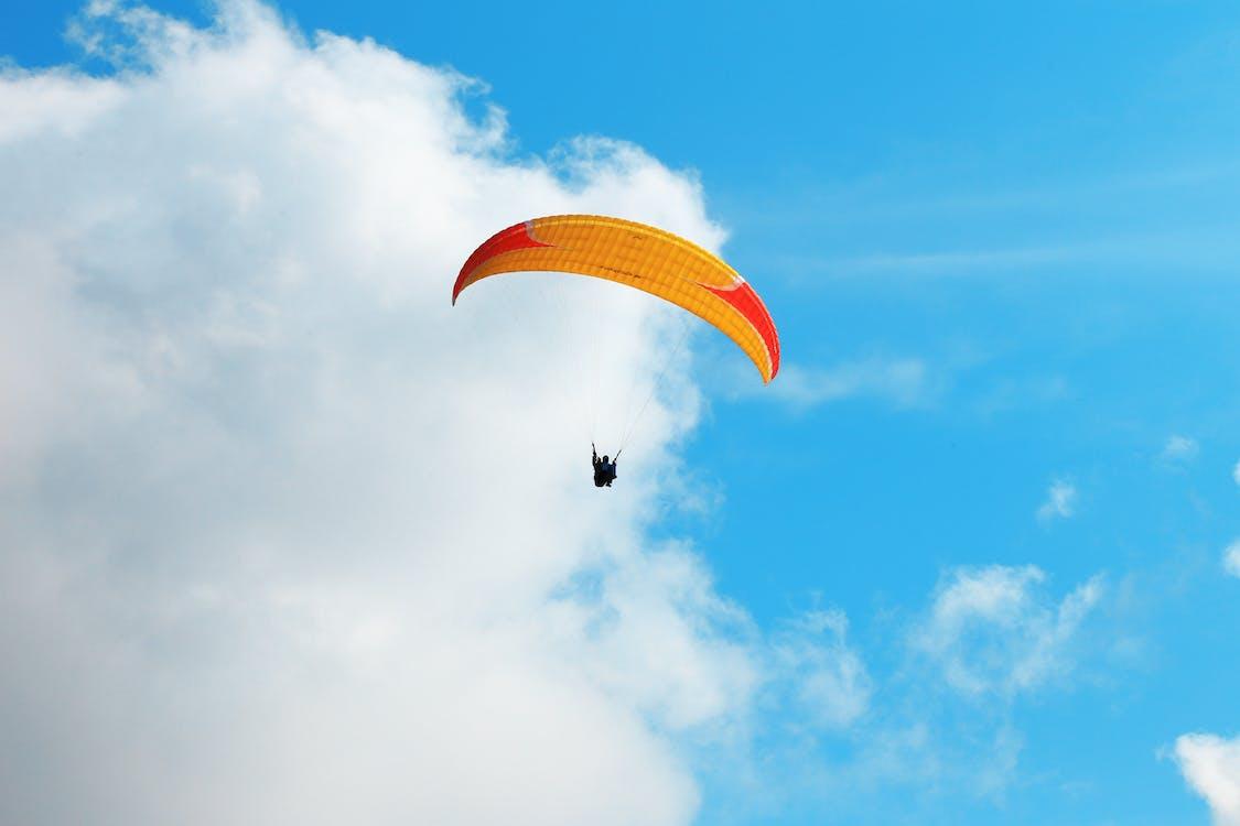 冒險, 探索, 滑翔傘運動員