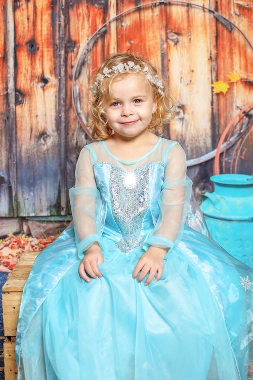 Free stock photo of kid, princess