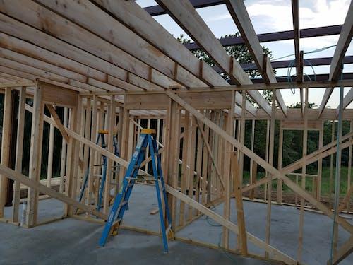 Fotos de stock gratuitas de construcción, enmarcado