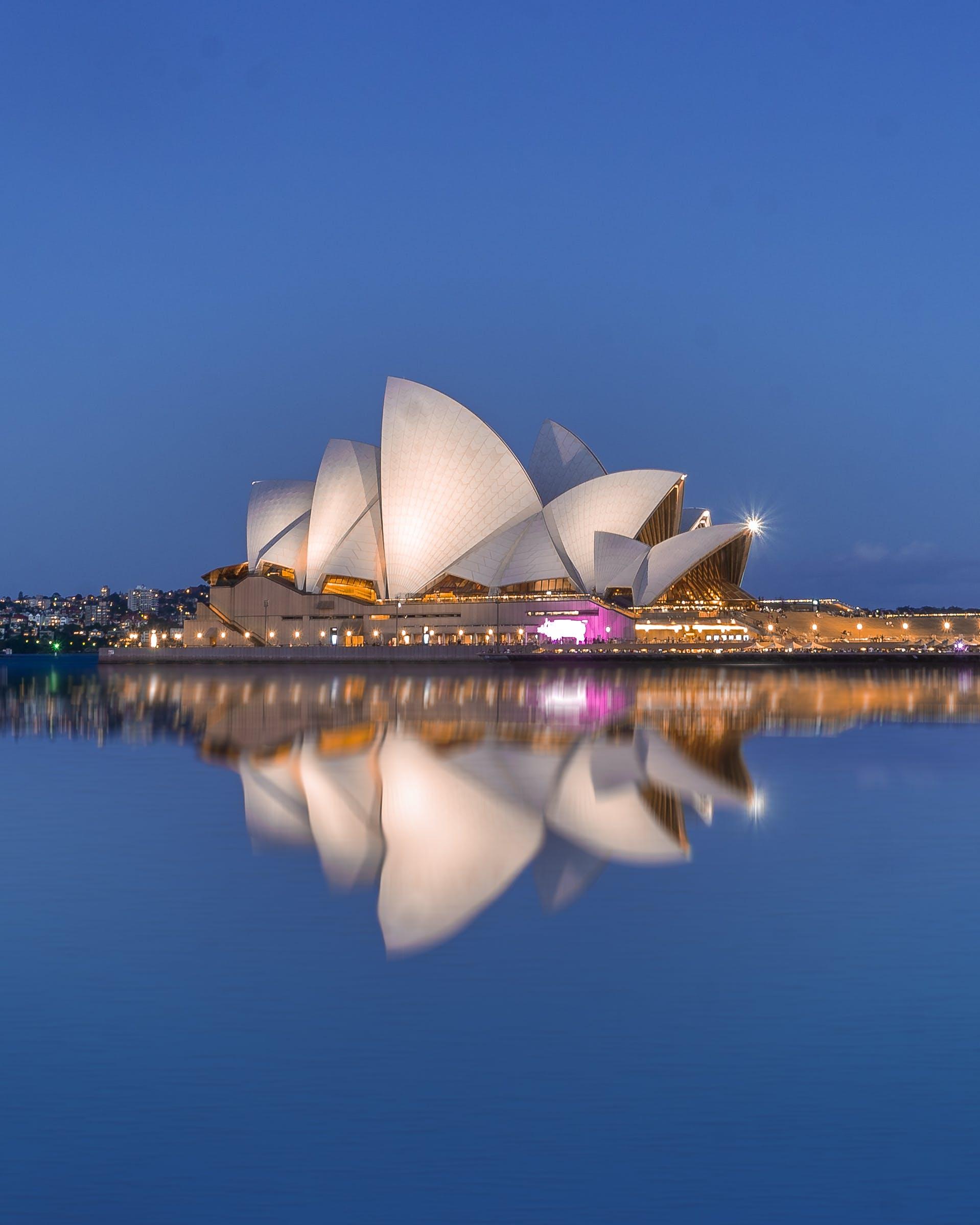 Δωρεάν στοκ φωτογραφιών με αντανάκλαση, Αυστραλία, κέντρο πόλης, λυρική σκηνή
