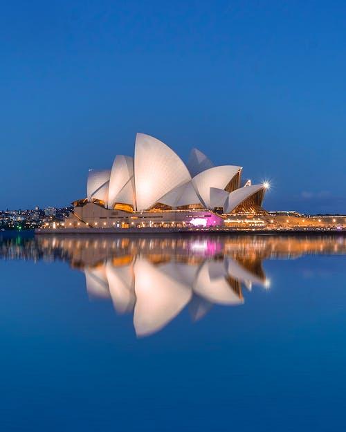 Foto stok gratis australia, gedung Opera, Gedung opera Sydney, kota