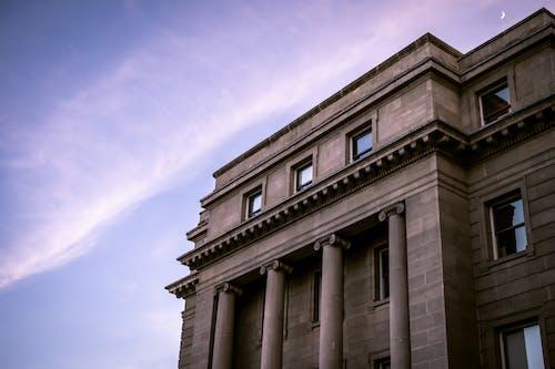 Foto d'estoc gratuïta de arquitectura, columnes, edifici, façana