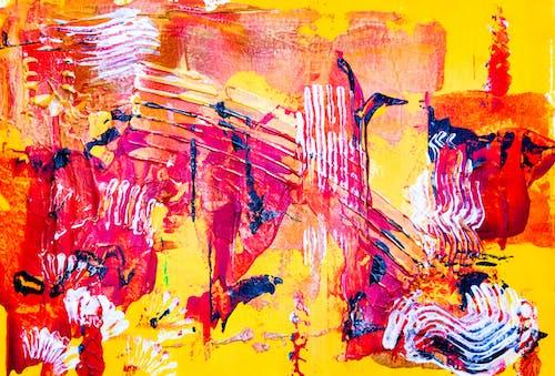 Darmowe zdjęcie z galerii z abstrakcyjny ekspresjonizm, akryl, ekspresjonizm, farba akrylowa