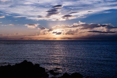 Sun Rays Peak Trough Clouds