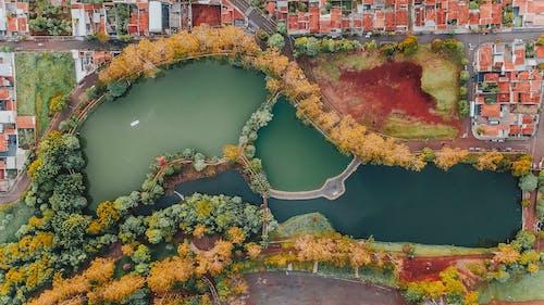 Gratis stockfoto met bird's eye view, stad, van boven
