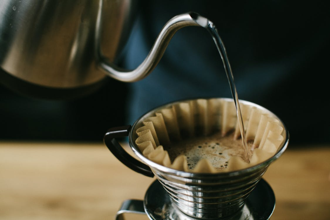 Full Filled Coffee Stainless Steel Cup