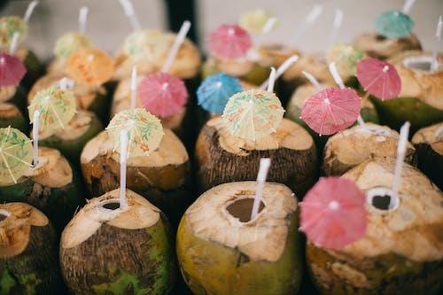 Foto stok gratis buah, jus, kelapa, lezat