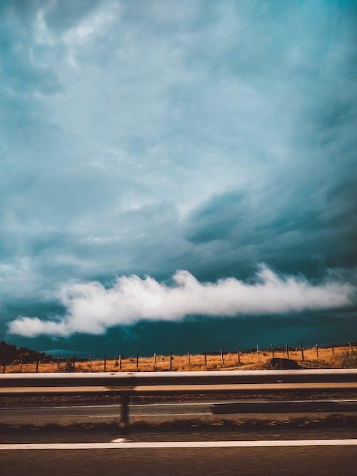 คลังภาพถ่ายฟรี ของ ถนน, ท้องฟ้า, มีเมฆมาก, เมฆ