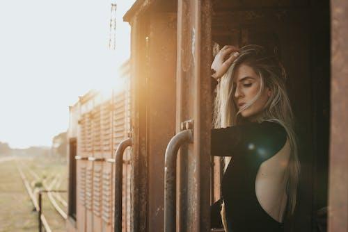 Základová fotografie zdarma na téma blond, focení, hezký, krásná žena