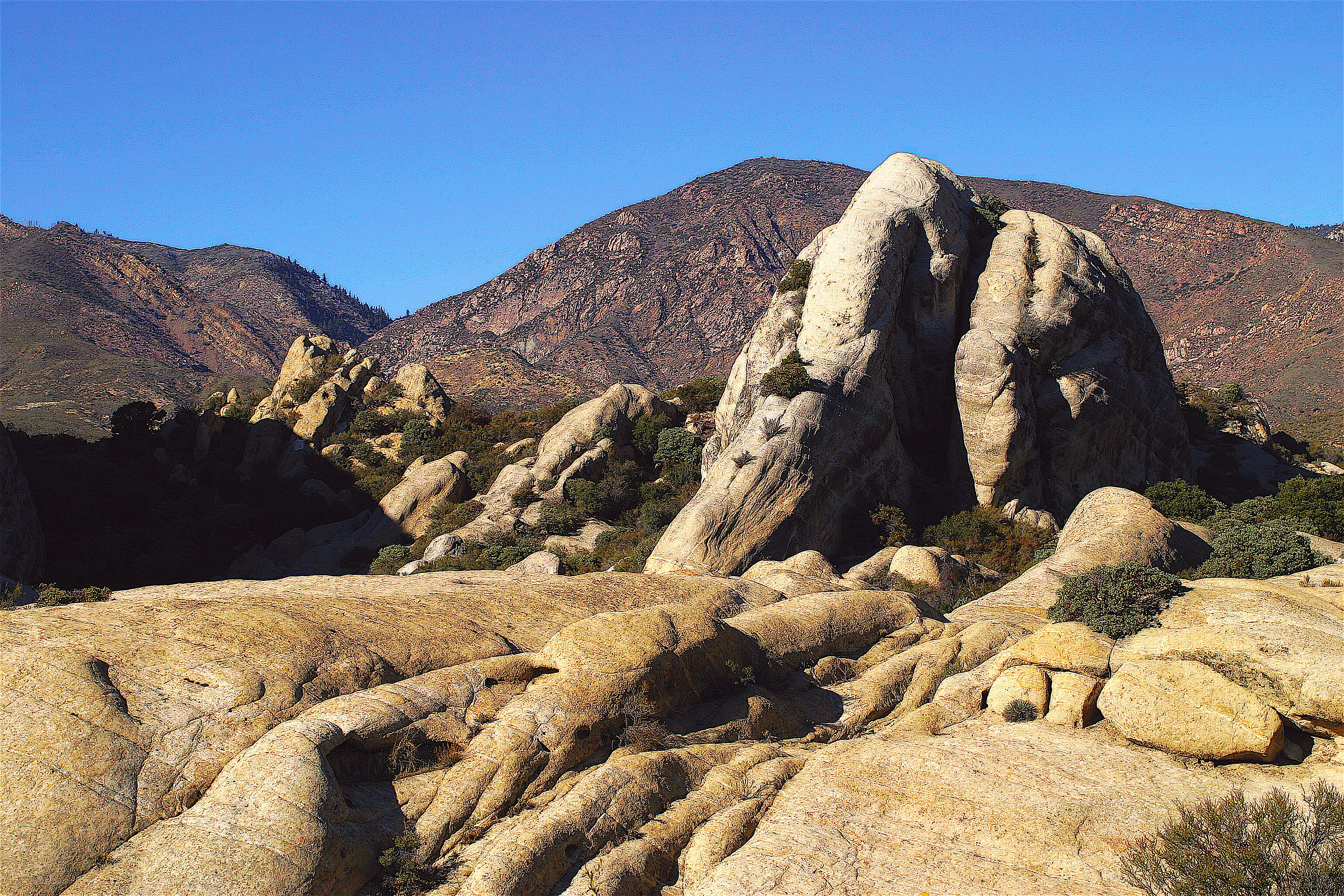 Free stock photo of mountain hiking, nature, rock formation