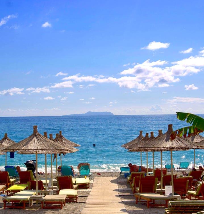 Albanie, bord de mer, complexe