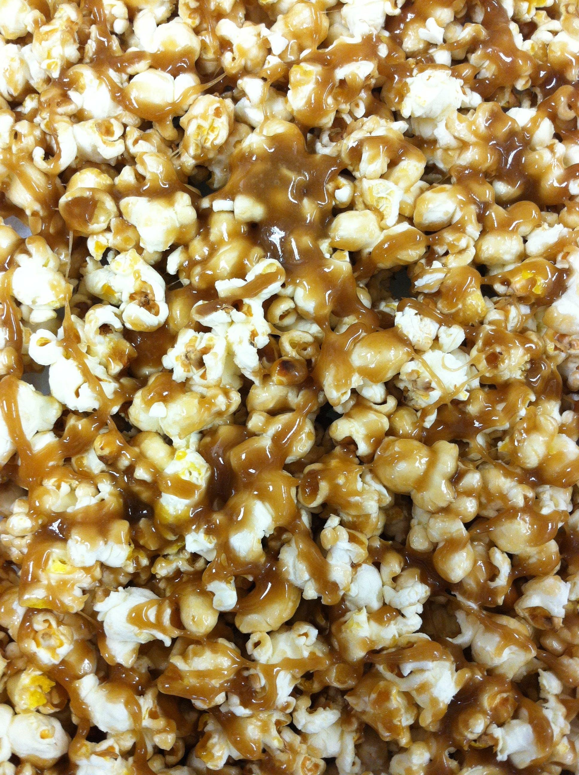 Free stock photo of Carmel corn