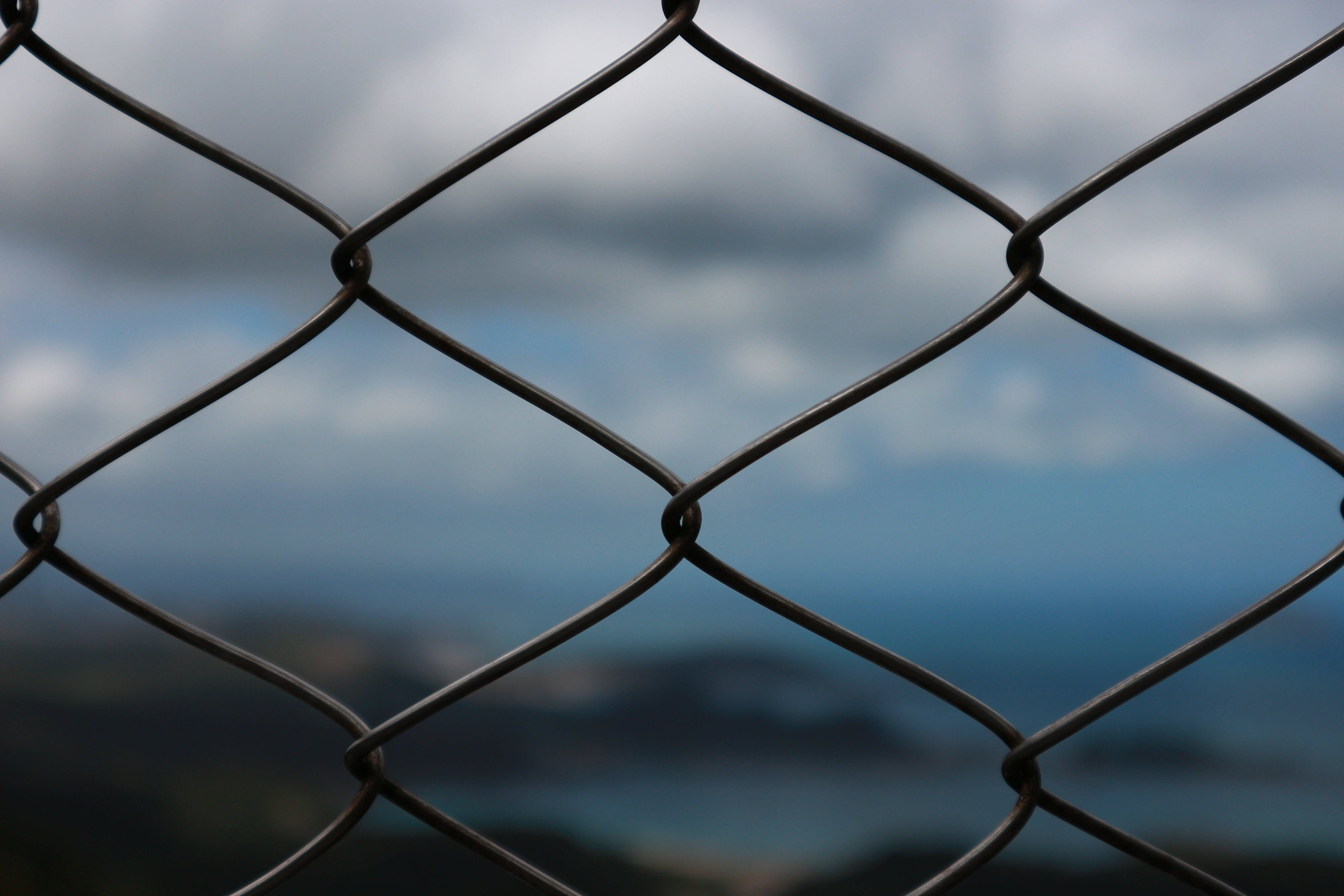 Gray Metal Cage
