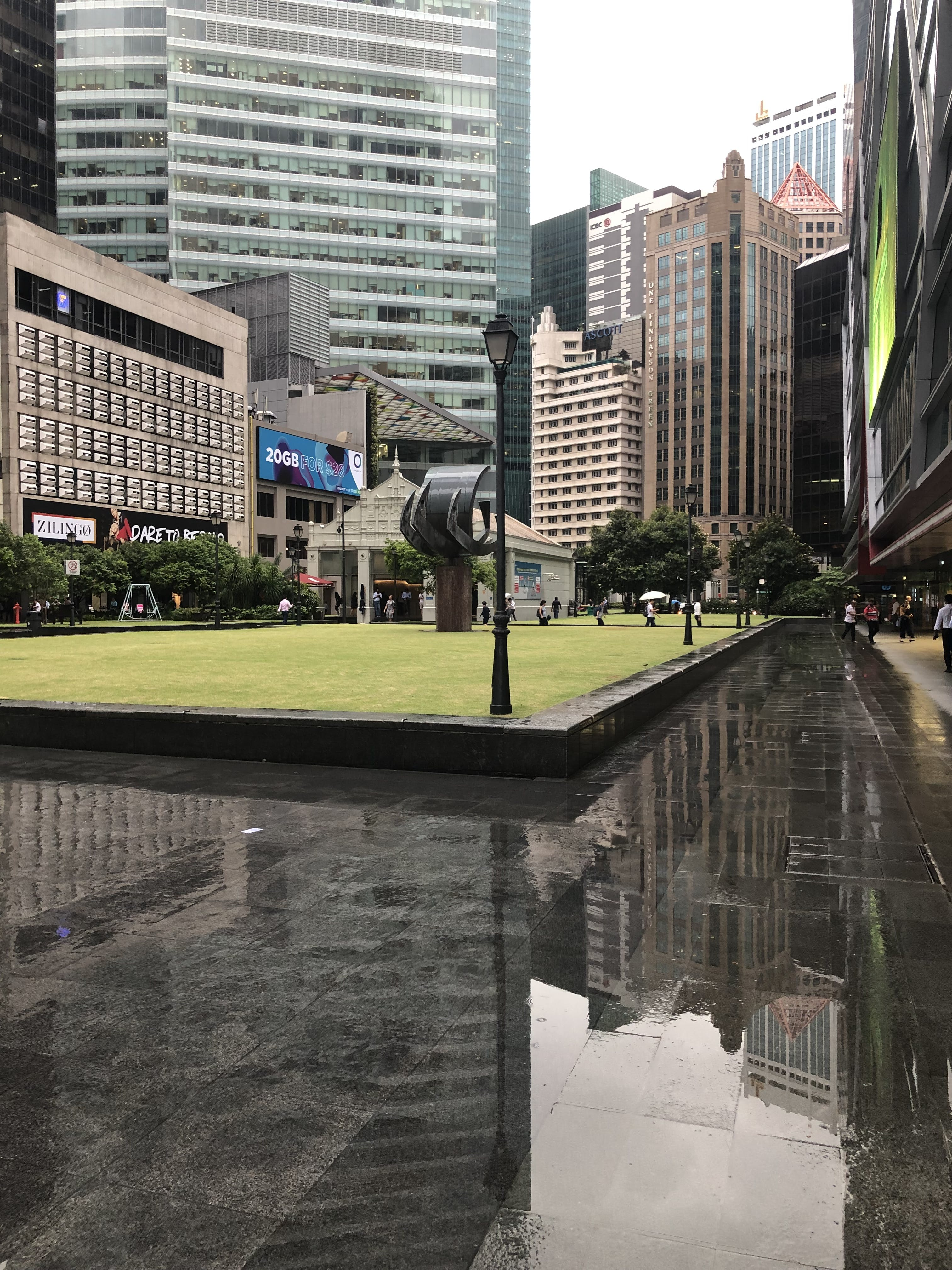 Free stock photo of after the rain, city, reflection, reflections