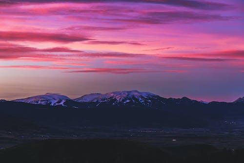 Foto d'estoc gratuïta de alba, cel, cel rosat, Fons de pantalla 4k